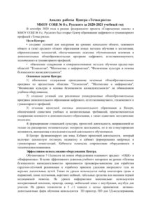 thumbnail of Анализ работы ЦОЦГПТочка роста за 2020-2021 год